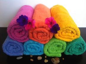 ręcznik rubin