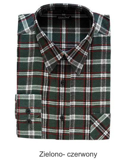Koszula flanelowa cena WORKTEX koszule flanelowe hurt  cT5VS